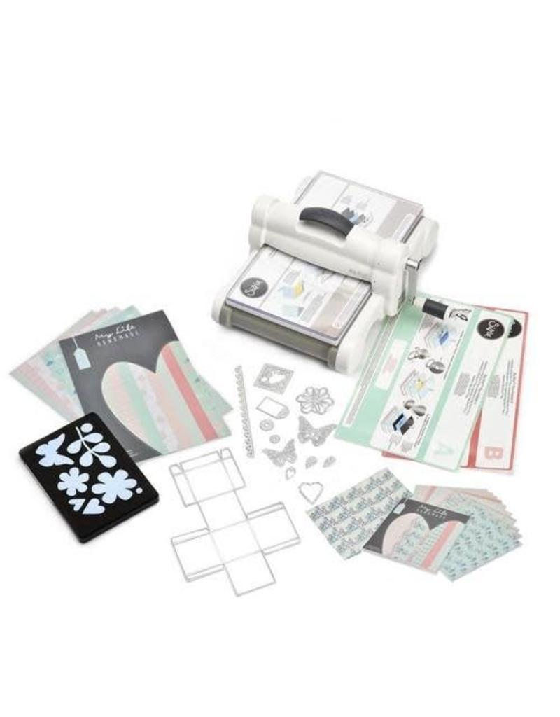 Sizzix Big Shot Sizzix Big Shot Plus Starter Kit A4 White & Grey ft. MLH 661546