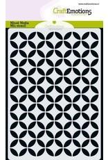 Craft Emotions CraftEmotions MM Mix stencil design cirkel decoratief A6