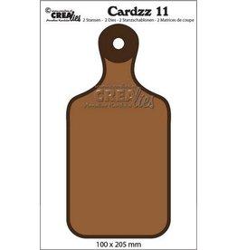 Crealies Crealies Cardzz no 11 broodplank CLCZ11 100x205mm