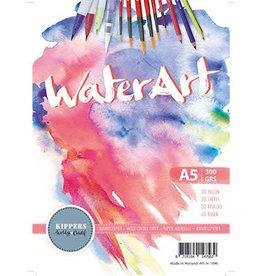water art Waterart  Aquarel Papier A5  20 sheets 300grs
