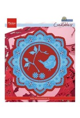 Marianne Design Marianne Design Creatables Petra's circle with bird  LR0457