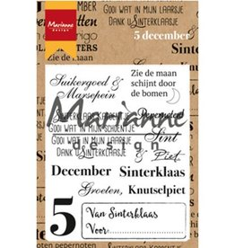 Marianne Design Marianne Design stempel Vijf december CS0982