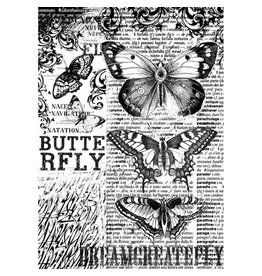 Stamperia Rice Paper A4 Butterfly (DFSA4168)