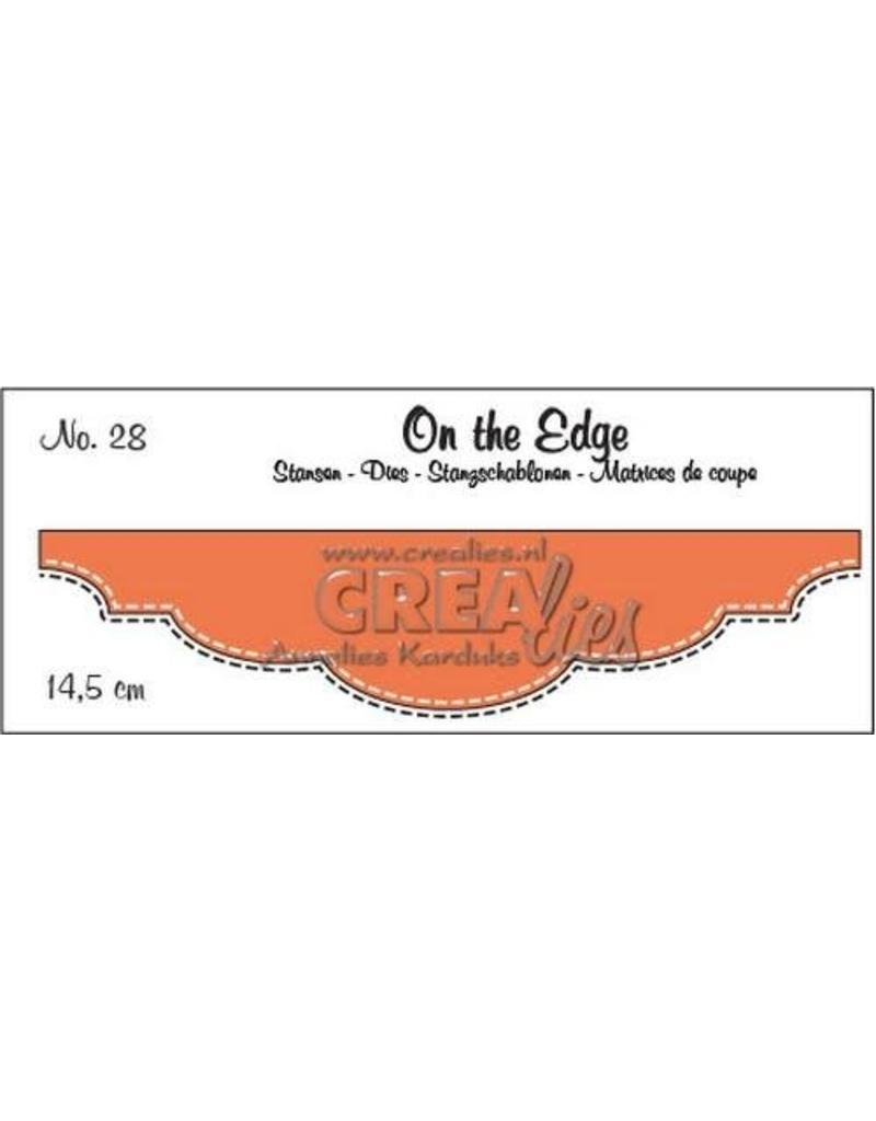 Crealies Crealies On the edge stans no 28 CLOTE28