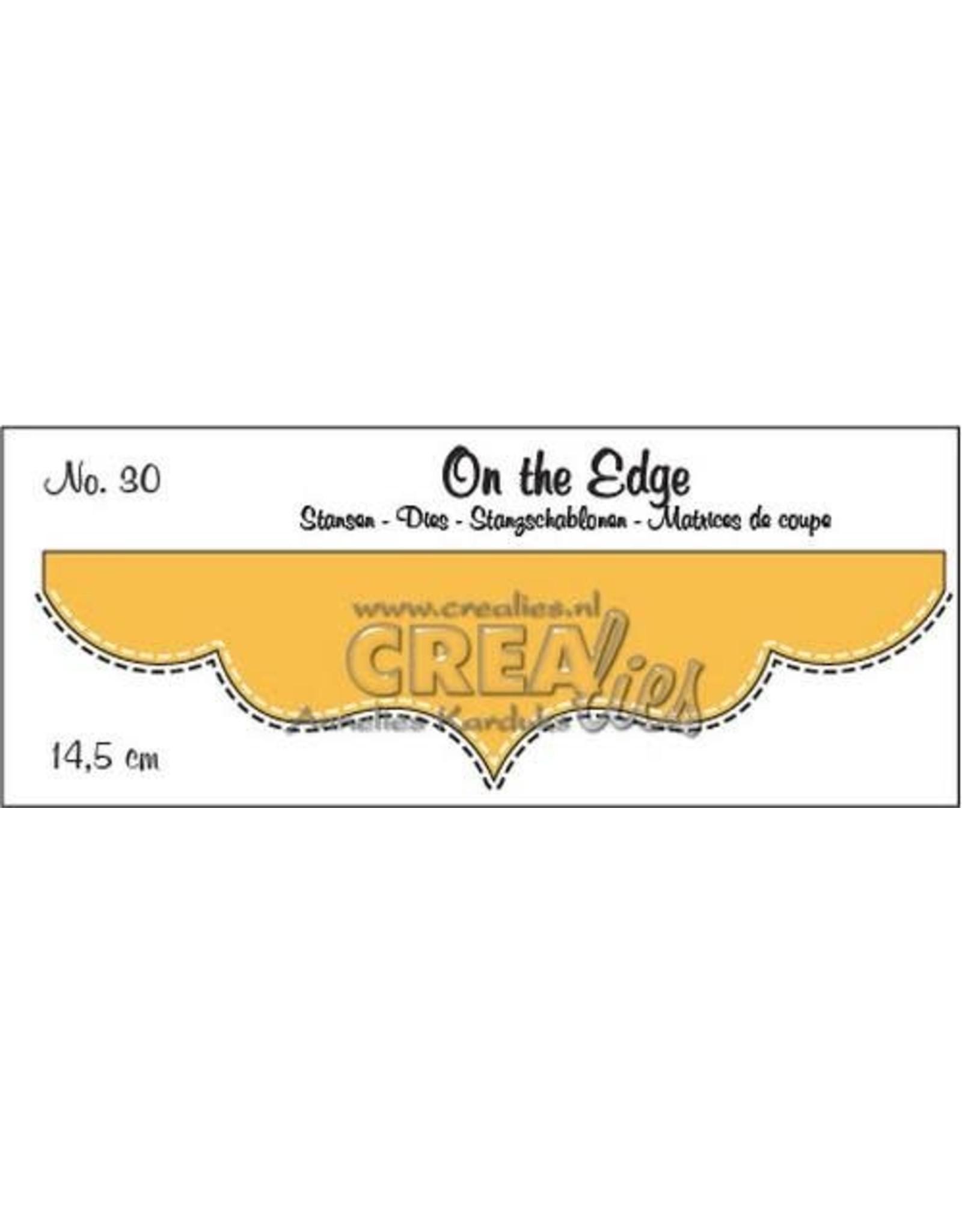 Crealies Crealies On the edge stans no 30 CLOTE30