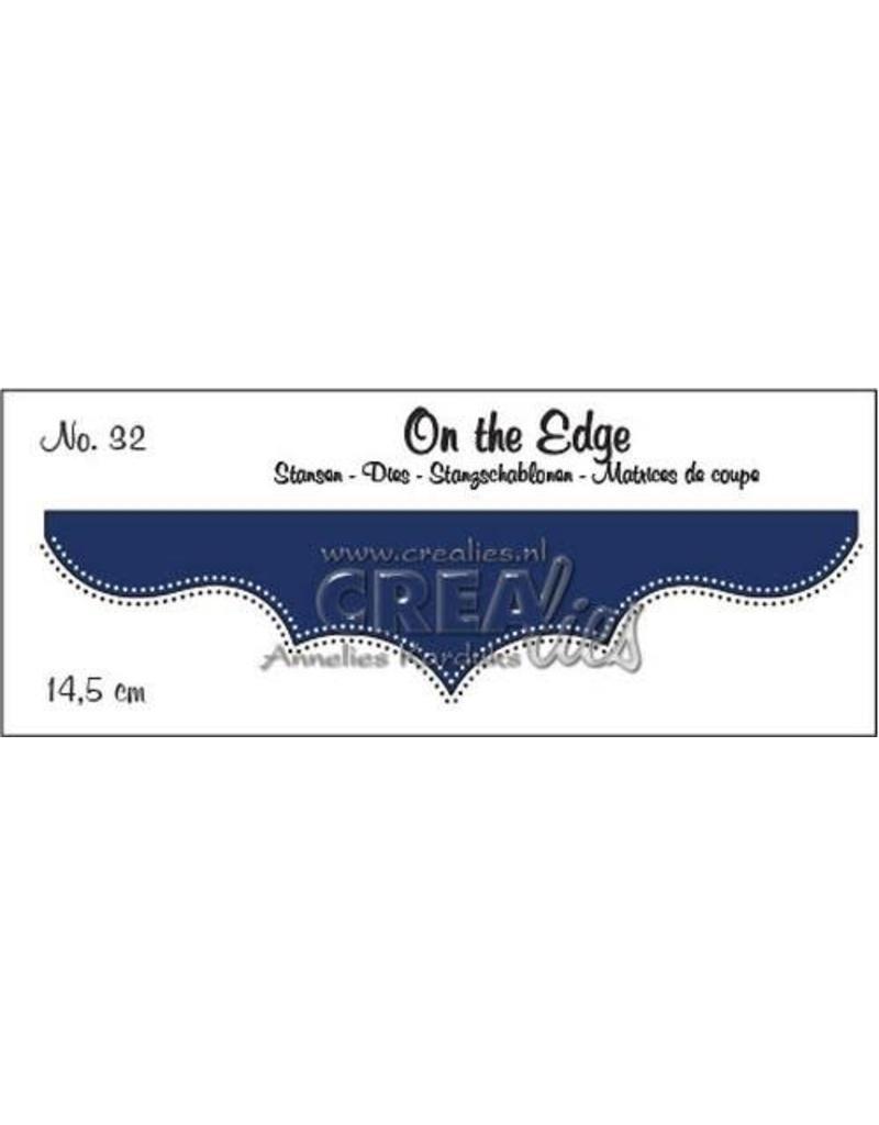 Crealies Crea-nest-dies Crealies On the edge die stans no 32 CLOTE32