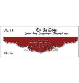 Crealies Crealies On the edge die stans no 33 CLOTE33