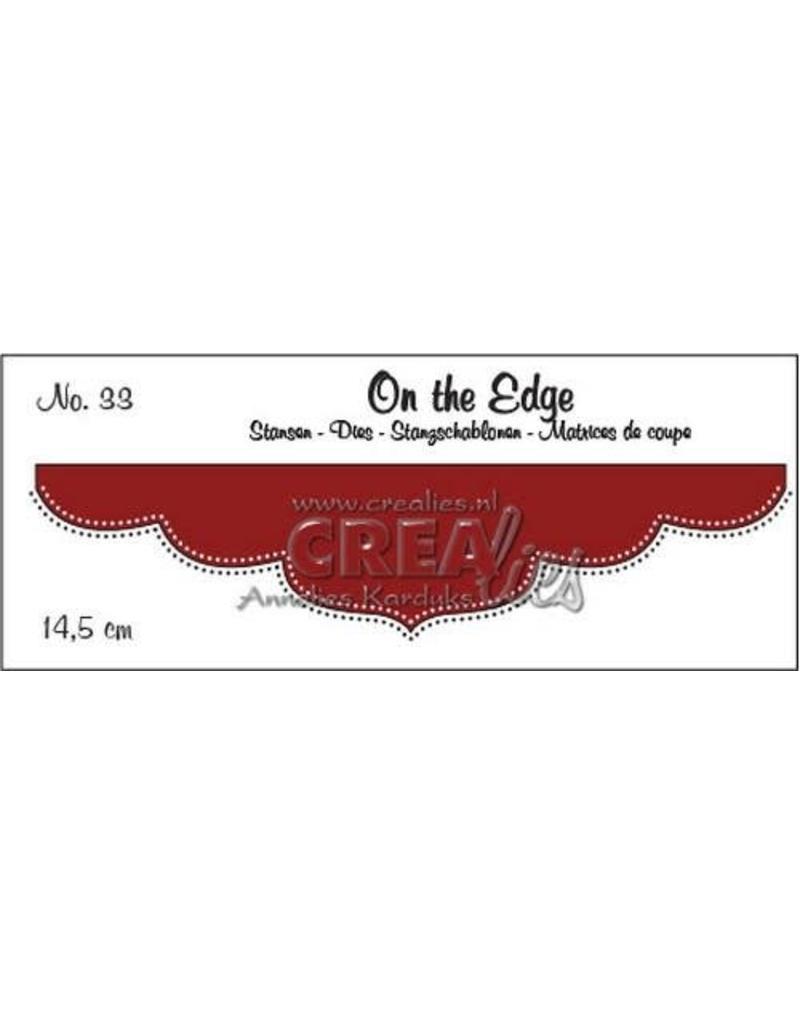 Crealies Crea-nest-dies Crealies On the edge die stans no 33 CLOTE33