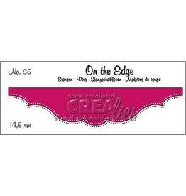 Crealies Crea-nest-dies Crealies On the edge die stans no 35 CLOTE35