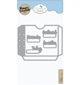 Elizabeth Craft Designs Elizabeth Craft Designs Planner pockets -1  1608