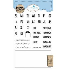 Elizabeth Craft Designs Elizabeth Crafts Design Planner stamps schedule CS117