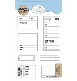Elizabeth Craft Designs Elizabeth Craft Designs Planner stamps Reminders CS119