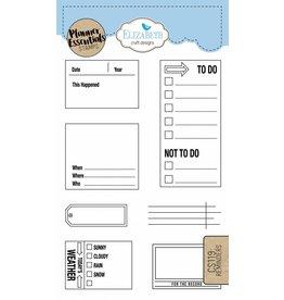 Elizabeth Craft Designs Elizabeth Crafts Design Planner stamps Reminders CS119