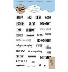 Elizabeth Crafts Design Planner stamps moods CS122