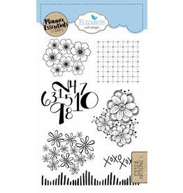 Elizabeth Craft Designs Elizabeth Crafts Design Planner stamps Patterns 1 CS124