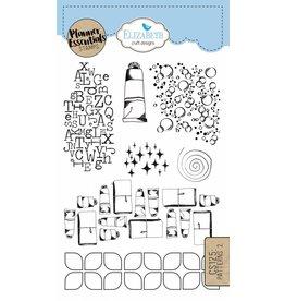 Elizabeth Craft Designs Elizabeth Crafts Design Planner stamps Patterns 2 CS125