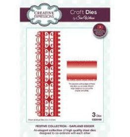 Creative Expressions Creative Expressions festive collection Garland edger 3108