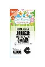 Joy Craft Joy Crafts Clear stempel - Birthday text - Smak!  6410/0470
