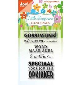 Joy Craft Joy Crafts Clear stempel - Gossimijne!  6410/0473