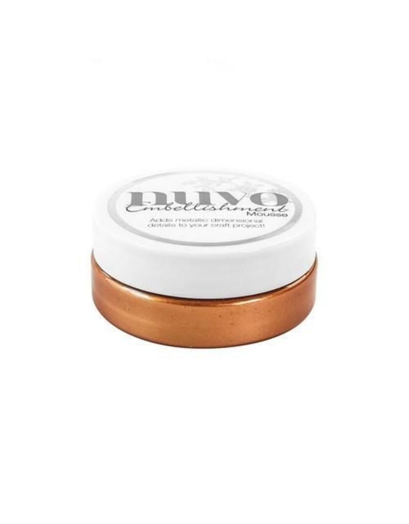 Nuvo by tonic Nuvo embellishment mousse - fresh copper 809N