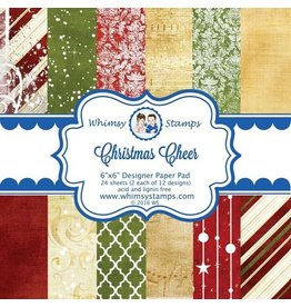Wimsy Stamps Whimsy Stamps Design papier Christmas cheer TWDP102
