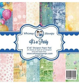 Wimsy Stamps Whimsy Stamps Design papier It's a party TWDP100