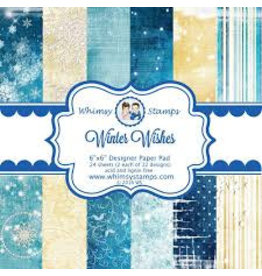 Wimsy Stamps Whimsy Stamps Design Papier Winter Wishes TWDP103