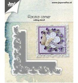 Joy Craft Joy Crafts Snijstencil - Hoek Rococo6002/1184