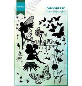 Marianne Design Marianne Design Silhouette Fairies & Butterflies CS1016