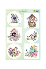 Marianne Design Marianne Design Birdhouses spring VK9573