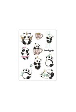 "LovedbyGaby Loved by Gaby stickers ""Panda"""