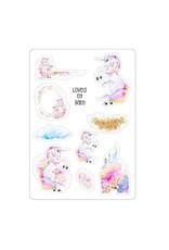 LovedbyGaby Loved by Gaby stickers Pastel Unicorns