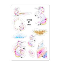 LovedbyGaby Loved by Gaby stickers Pastel Unicorns