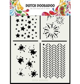 Dutch Doobadoo Mask Art Dutch Doobadoo Dutch Mask Art Multi stencil 2 A5 470.715.131