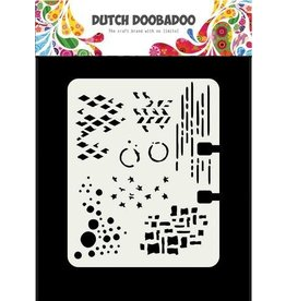 Dutch Doobadoo Mask Art Dutch Doobadoo Dutch Mask Art Rollerdex patronen 102x82 mm 470.715.900