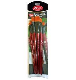 Viva Decor Viva Decor Artist Brush Set Penselen Plat 9300.150.00