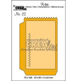 Crealies Crealies X-tra no. 22 klein zakje CLXtra22