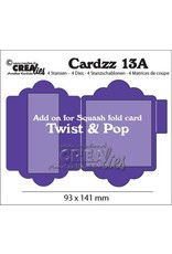Crealies Crealies Cardzz nr 13A add on for CLCZ13: Twist & Pop CLCZ13A