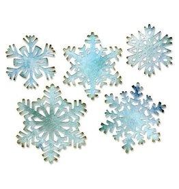 Sizzix Thinlits Sizzix Thinlits Die Set - Paper Snowflakes 5PK 660059 Tim Holtz