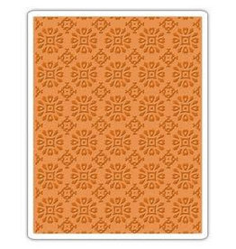 Sizzix embossings folder Sizzix Texture Fades Embossing Folder - Rosettes