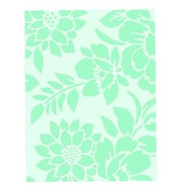 Sizzix embossings folder Sizzix Textured Impressions - Botanicals 662606 Debi Potter