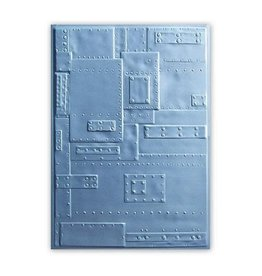 Sizzix embossings folder Sizzix 3-D Embossing Folder - Rivets 662717 Tim Holtz