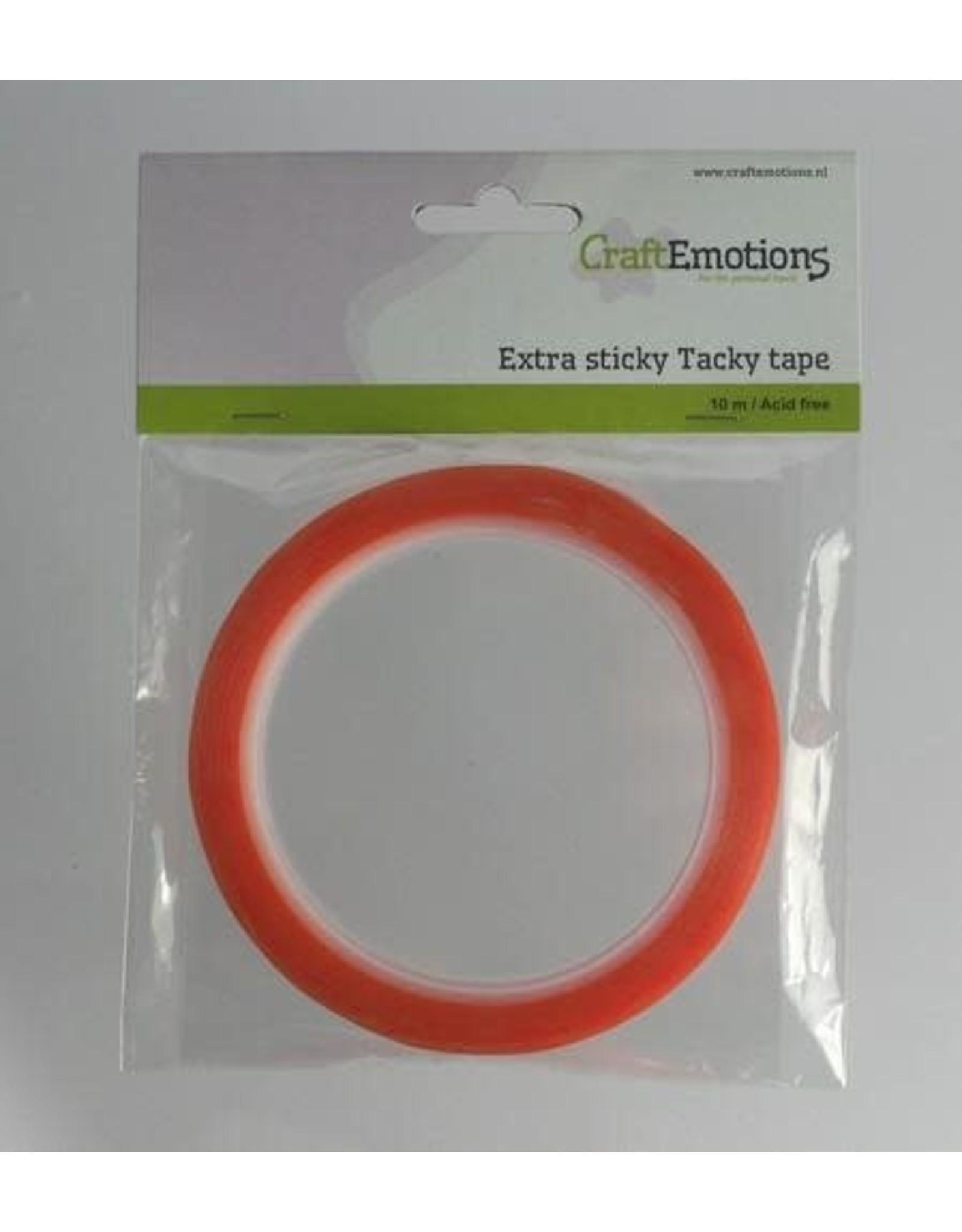 Craft Emotions CraftEmotions Extra sticky tape 6 mm 10 MT 1 RL