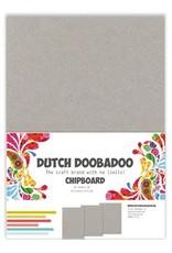 Dutch Doobadoo greyboard Dutch Doobadoo Greyboard 10 stuks A5 474.300.004