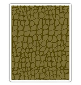 Sizzix embossings folder Sizzix Texture Fades Emb. Folder - Croc 661823