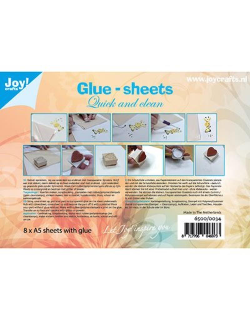 Joy Craft Joy Crafts Glue-sheets A5 - Quick and clean 6500/0034
