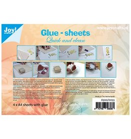 Joy Craft Joy Crafts Glue-sheets A4 - Quick and clean 6500/0035
