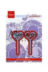 Marianne Design Marianne Design Creatable Heart pins (set of 2) LR0573