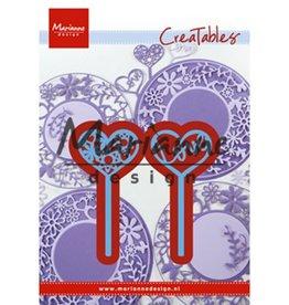 Marianne Design Marianne Design Creatable Heart pins (set of 2) LR0573
