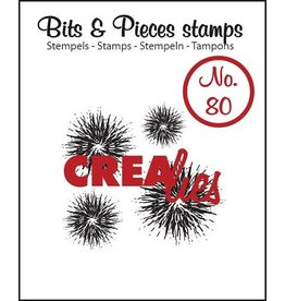 Crealies Crealies Bits & Pieces no 80
